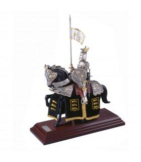 Armure Casque d'équitation de Dragon d'Or