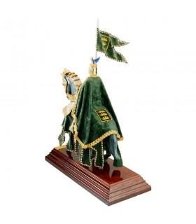 Armure Casque d'équitation Dragon avec la couche