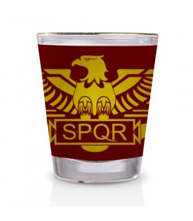 Verre Légion Romaine SPQR