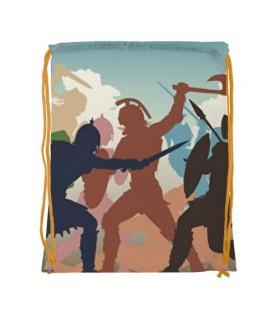 Sac à dos de la chaîne de Combat de Gladiateurs (34x42 cm.)