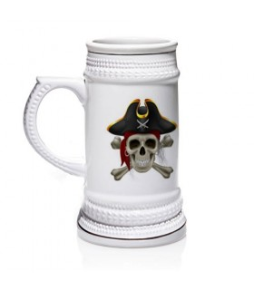 Chope de bière Pirates des Caraïbes