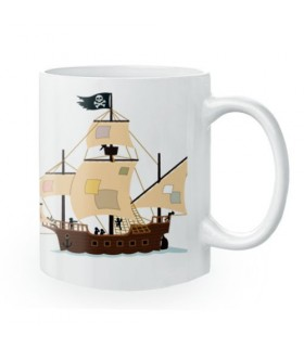 Tasse en céramique de Pirates