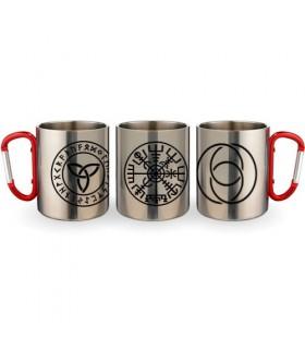 Tasse En Acier Mousqueton Symboles Celtiques