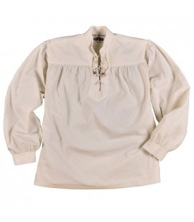 Chemise blanche de pirate Ludwig