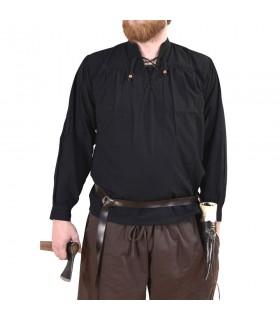 Shirt noir pirate Ludwig