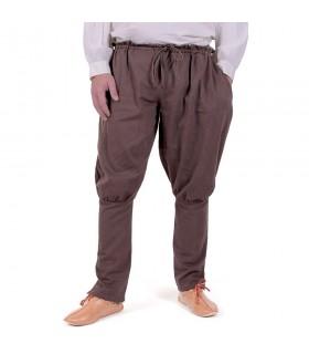 Pantalon vikings de l'Olaf, brun