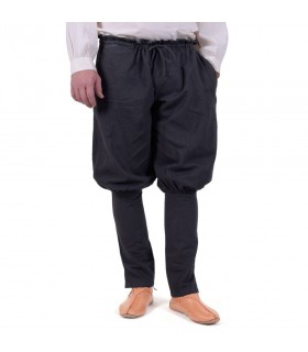 Pantalon vikings de l'Olaf, noir