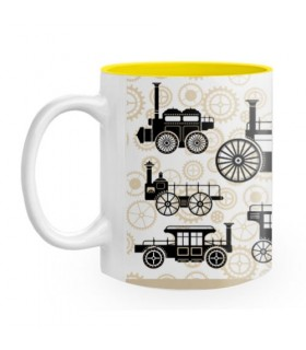 Tasse en céramique de Steam Punk