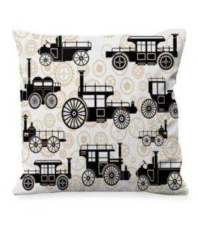 Coussin Design Steam Punk