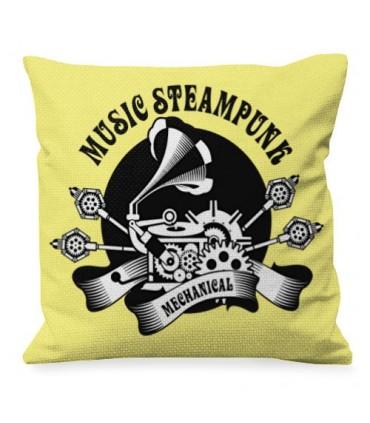 Coussin Design, De La Musique, De SteamPunk
