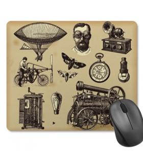 De souris tapis de Souris Rectangulaire SteamPunk (23,5x19,5 cm)
