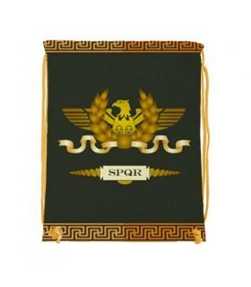 Sac à dos chaîne Légion Romaine SPQR (34x42 cm.)