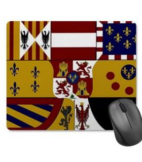 De souris tapis de Souris Rectangulaire Bouclier Médiéval (23,5x19,5 cm)