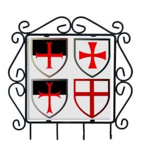 Cintre touches avec Croix des Templiers