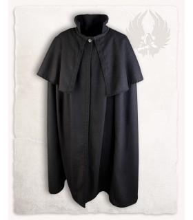 Manteau cape médiévale, de la laine