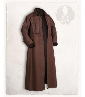 Manteau médiéval Kandor, brun