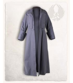 Manteau médiéval Kandor, gris