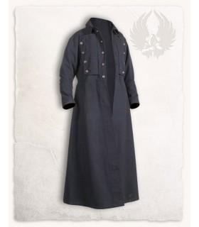 Manteau médiéval Kandor, noir
