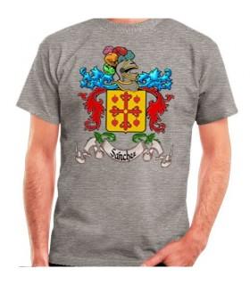 Camiseta Personalizada con Escudo Heráldico 1 Apellido