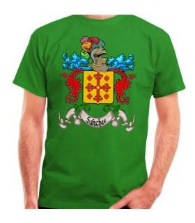 T-Shirt Personnalisé Écusson Héraldique 1 Nom De Famille