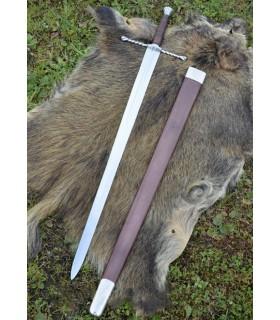 Épée Bâtarde avec la gaine, fonctionnelle