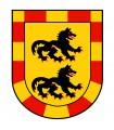 Bannière Médiévale Dragon (120x100 cms.)