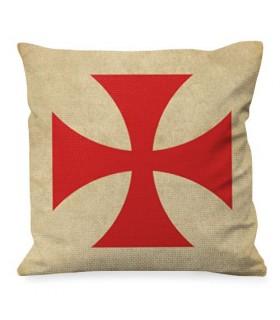 Coussin avec Croix des Templiers