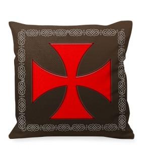 Coussin Croix De Malte Les Chevaliers Templiers