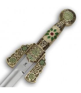 Épée arabe décorées, 84 cms.