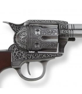 Revolver Colt 45 artisan de la paix, de la décoration, 27 cms.