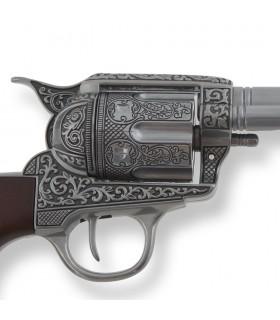 Revolver Colt 45 artisan de la paix, la longueur du canon, 31,5 cms.