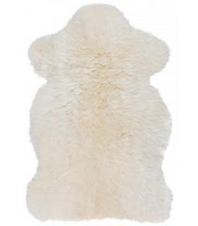 La peau d'agneau blanche