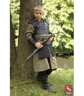 Armure de cuir pour les enfants