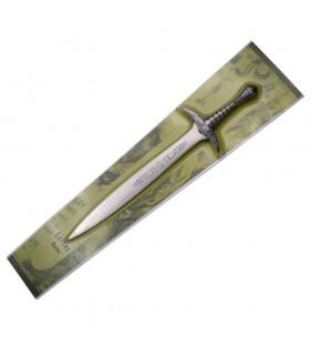 Ouvrez-les lettres de Frodon du Seigneur des Anneaux, 19 cms.