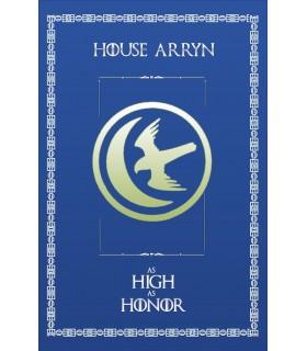 Bannière Jeu de Trônes de la Maison Arryn (75x115 cm.)