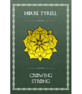Bannière Jeu de Trônes de la Maison Tyrell (75x115 cm.)
