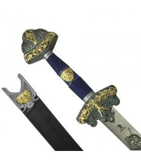L'épée d'Odin décorées, avec gaine
