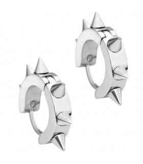 Boucles d'oreilles en argent gothique