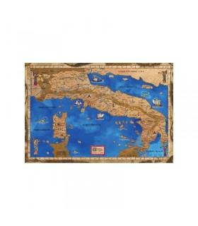 Carte de l'Italie médiévale