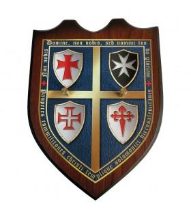 L'exposant de la paroi des Chevaliers, des Ordres Religieux