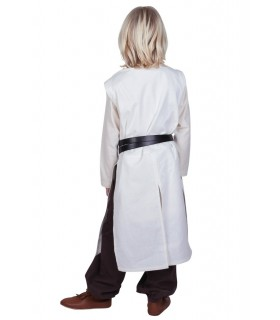 Tabard de l'enfant du temple, naturel, blanc