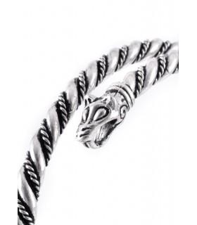Bracelet viking loups