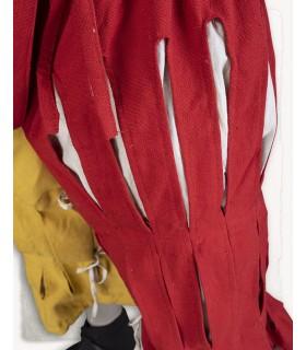 Pantalon Mercenaire Lansquenete, rouge-jaune