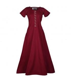 Robe médiévale à manches courtes, Ava