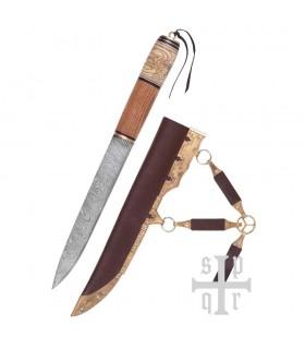 Couteau Viking, L'Acier De Damas