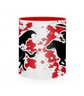 Tasse en céramique de Combat Spartan