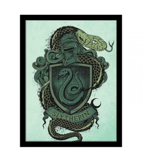 Estampillé blason de Serpentard, Harry Potter