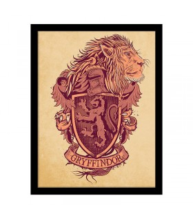 Estampillé blason de Gryffondor, Harry Potter