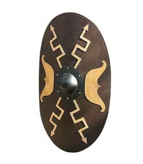Bouclier ovale de la Cavalerie Romaine