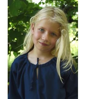 Robe viking bleu Ana, fille